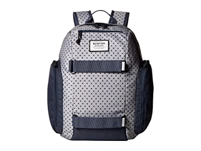 Burton Kids Metalhead Backpack (Little Kid/Big Kid) (Wild Dove Polka Dot Print) Backpack Bags