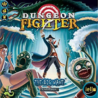 IELLO Dungeon Fighter: The Big Wave Board Game