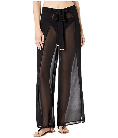 MICHAEL Michael Kors Solids Cover-Up Pants with Belt