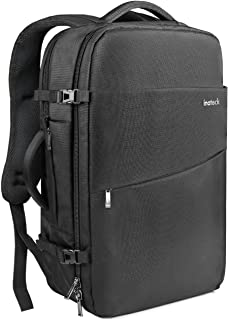 Inateck Travel Carry-On Luggage Backpack 30L, Flight Approved Business Anti-Theft Weekender Rucksack Bag, Fit 15.4'' Laptop for Men and Women - Black