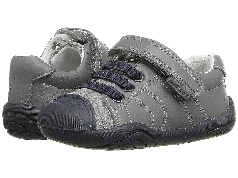 pediped Jake Grip n Go (Toddler) (Grey/Blue) Boy