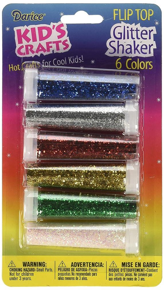 Darice Kid's Glitter Shakers (6 Pack)