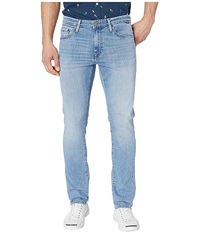 Mavi Jeans Jake Regular Rise Slim Leg in Light Indigo Williamsburg (Light Indigo Williamsburg) Men