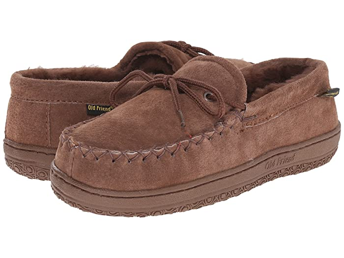 Old Friend  Loafer Moc (Dk.Brown) Womens Shoes