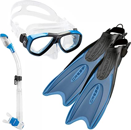 Cressi Sub Palau Fins Diving Snorkeling U without legs to use NEW
