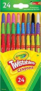Crayola Mini Twistables Crayons, Pack of 24