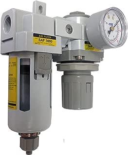 PneumaticPlus SAU3020M-N03G Air Filter Regulator Combo 3/8