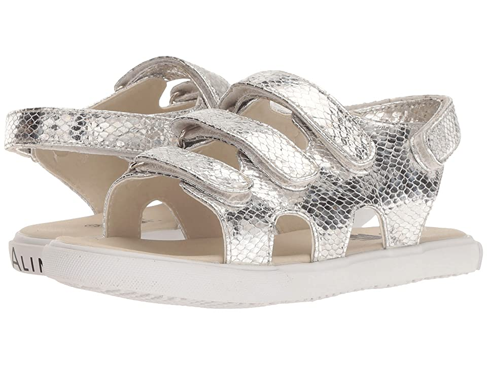 Amiana 6-A0975 (Toddler/Little Kid/Big Kid) (Silver Snake) Girl