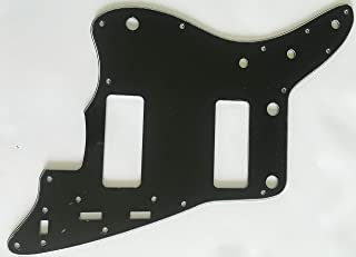 Electric Guitar Pickguard for Fender US Jazzmaster P90 Style (3 Ply Black)