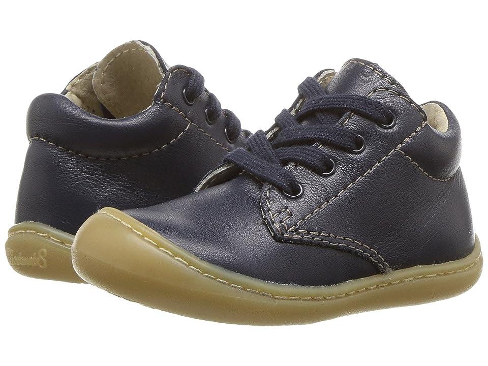 FootMates Reagan (Infant/Toddler) (Navy Nappa) Kids Shoes