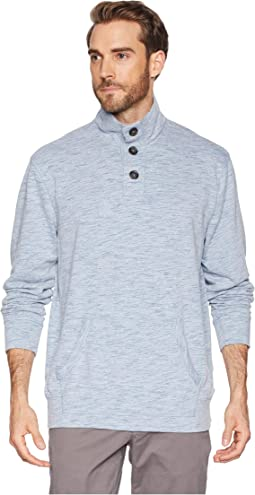 Mandalay 1/4 Button French Terry Pullover