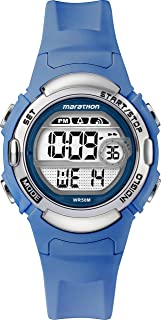 Timex Marathon LCD Dial with Resin Strap Watch