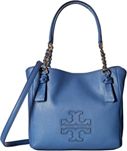 2b9d852c01a Tory burch block t embossed satchel   Shipped Free at Zappos