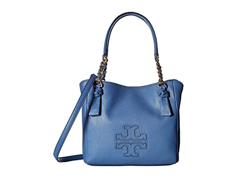 6399b4a92d25a Tory Burch Harper Small Satchel at Zappos.com