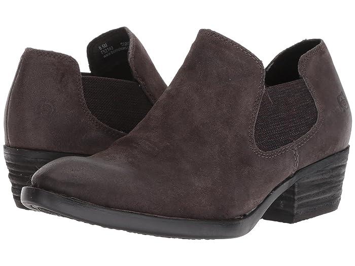 Born  Dallia (Dark Grey Distressed) Womens Pull-on Boots