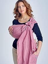 Regalo para baby shower Anillos de aluminio ligero y fuerte Ring Sling Baby Carrier 100/% algod/ón de 1 capa morado Lilac Talla:mediano