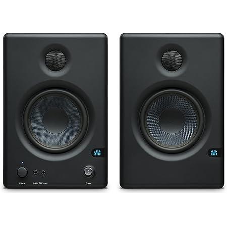 PreSonus Eris E4.5 50W Negro altavoz - Altavoces (2.0 canales, Alámbrico, XLR/6.3mm/RCA, 50 W, 70 - 20000 Hz, Negro)
