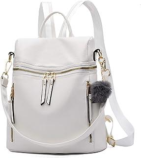 Frauen Rucksack Geldbörse Multi-Pocket Wasserdichte Schultertasche Kleine Bookbag Geldbörse für Mädchen Reisetasche