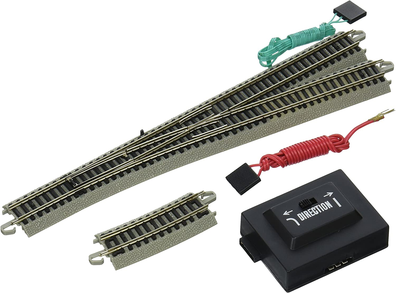 Bachmann Industries EZ Track 6 Turnout  Right (1 card) N Scale