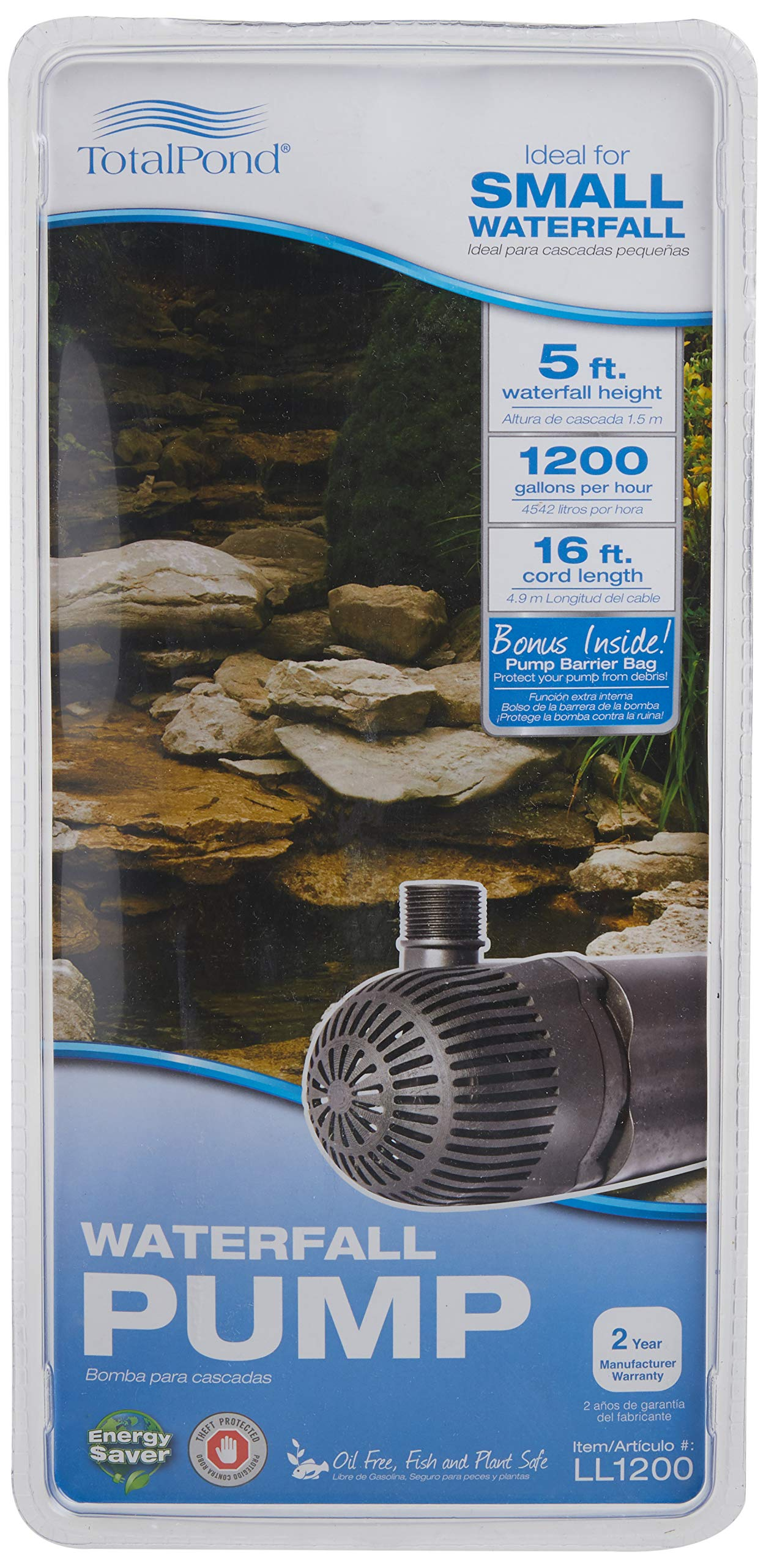 TotalPond 1200 GPH Waterfall Pump