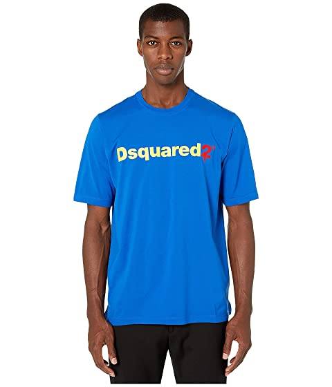 DSQUARED2 Negative Dyed Slouch Fit T-Shirt