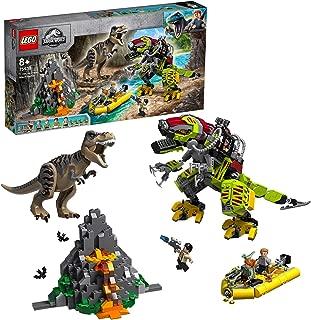 レゴ(LEGO)ジュラシック・ワールド T-レックス vs. メカきょうりゅう 75938 ブロック おもちゃ 恐竜 男の子