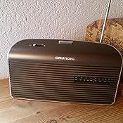 Grundig Music 60 Empfangsstarkes Radio Im Modernen Design Brown Silver Audio Hifi