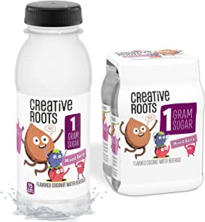 CREATIVE ROOTS Mixed Berry Flavored Coconut Water, Kids Beverage With Other Natural Flavors - All Natural Ingredients - No...