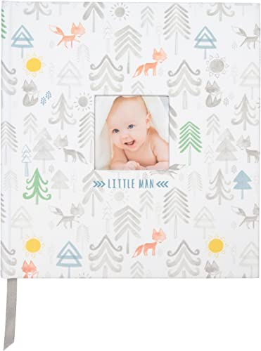 """C.R. Gibson Little Man Perfect-Bound Memory Book for Newborn and Baby Boys, 9.5"""" x 10"""""""