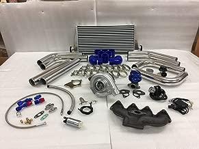 Civic B Series B16 B18 B20 ZC T3T4 .63 Turbo Kit Intercooler BOV Manifold