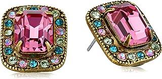 Sorrelli Happy Birthday Lovely Luxury Stud Earrings
