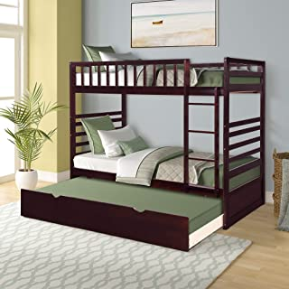 Best twin over double bunk bed trundle Reviews
