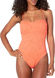 Lucky Brand womens One Piece Swimsuit One Piece Swimsuit