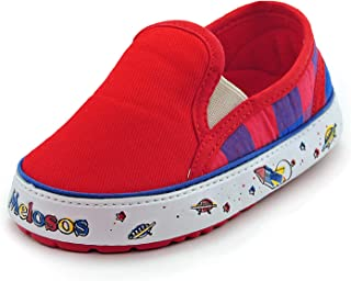 Melosos Toddler Shoes Slip ons Cute Sneakers Rubber Sole