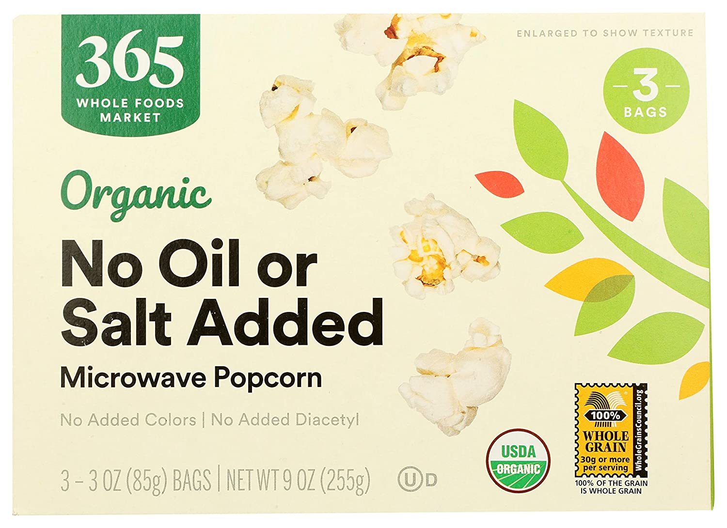 365 by WFM Popcorn Microwave Our shop most popular No Ounce Organic 9 Oil Salt At the price