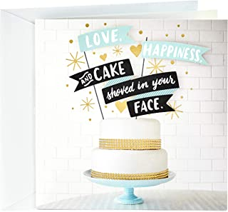 Hallmark Studio Ink Wedding Card (Wedding Cake)