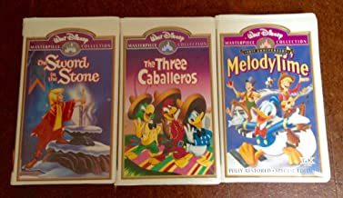 Disney Classic Masterpiece Collection #07 (3pk): The Three Caballeros; the Sword and the Stone; Melody Time