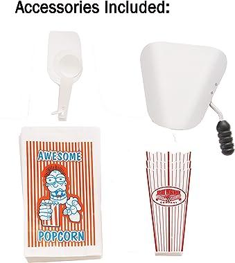 Great Northern Popcorn 639140OGQ Foundation Popcorn Machine with Cart, 8oz, Black