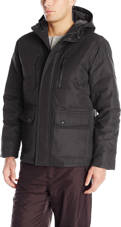 London Fog Men's Boardman Anorack Jacket with Attached Hood