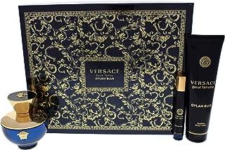 Versace Pour Femme Dylan Blue 100Ml And 10Ml Eau De Parfum And Sublime Body Lotion 150Ml Giftset for Men