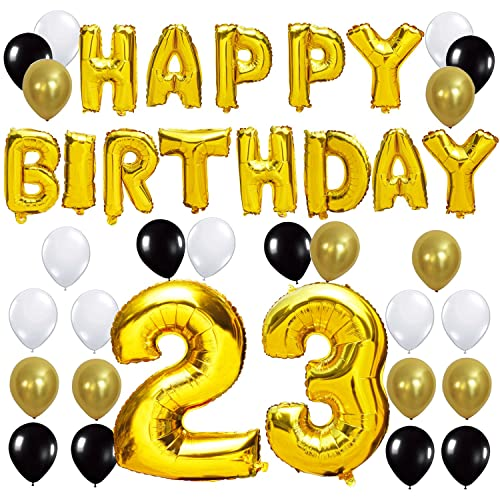 KUNGYO 23TH Birthday Party Decorations Kit