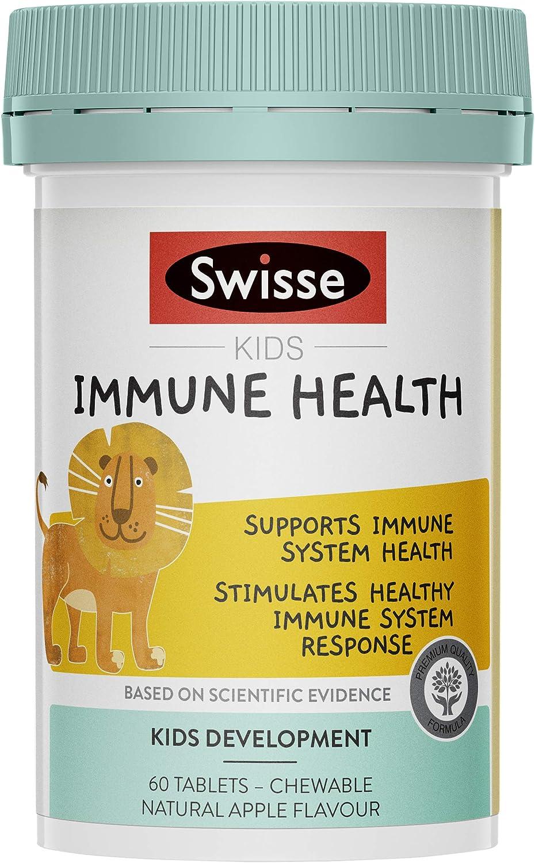 Swisse Wellness Kids Immune Health 60 Tab, 0.082 kilograms