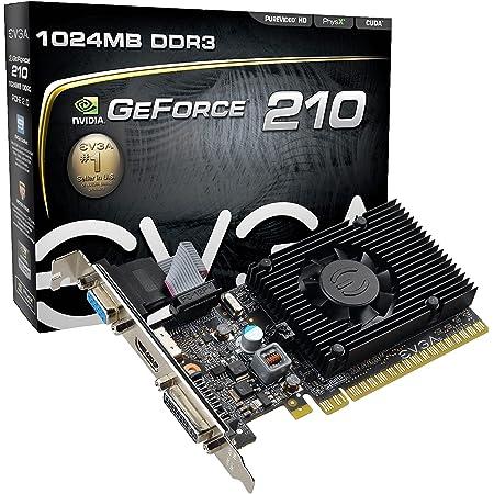 EVGA GeForce 210 1024 MB DDR3 PCI Express 2.0 DVI/HDMI/VGA Graphics Card, 01G-P3-1312-LR