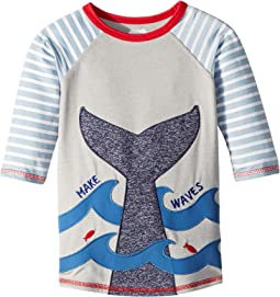 Make Waves Whale Tail Rashguard (Infant/Toddler)