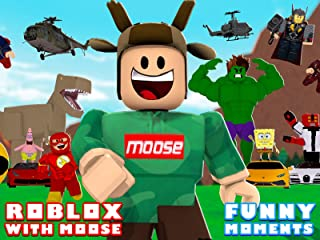 Clip: Roblox with MooseBlox (Funny Moments)