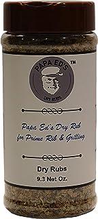 PAPA ED'S PRIME RIB AND GRILLING DRY RUB - 9.3 OZ NET