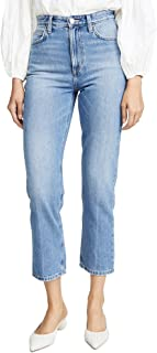 Women's High Rise Straight Ankle Jeans