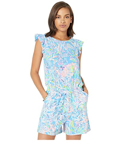 Lilly Pulitzer Patsi Romper (Multi All Together Now) Women