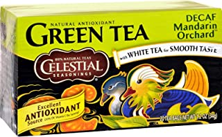 Celestial Seasonings Decaf Mandarin Orchard Green Tea Bags - 20 ct