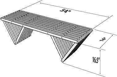 GloDea X60 Bench, Wild Black